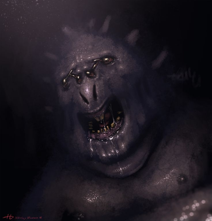 Dark Creature by Elleyart