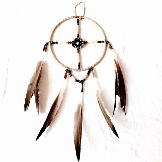 Authentic dream catcher native made vintage by Kimscottageloft