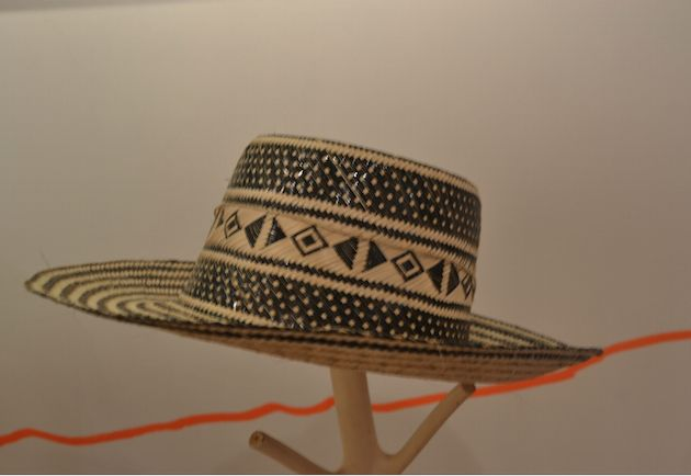 Traditional Wayúu Hat made by Colombian artisans.