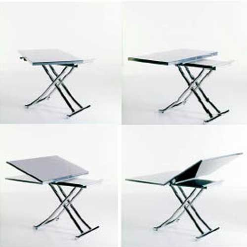 Mondial Expanding Coffee Dining Table Resourcefurniture Manayunk Apartment Pinterest