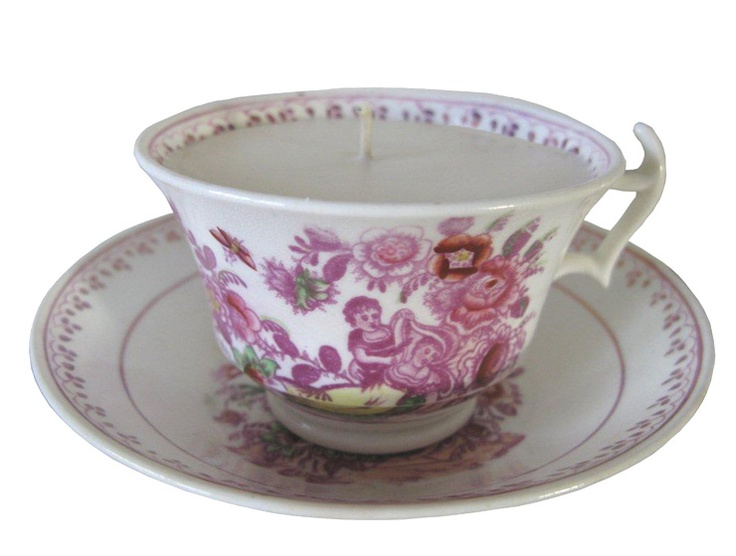 Light your love & keep the home fires burning! An array of pretty in pink antique & vintage candlelit teacups from £10-40.   www.teabird.co  twitter @teabirdUK