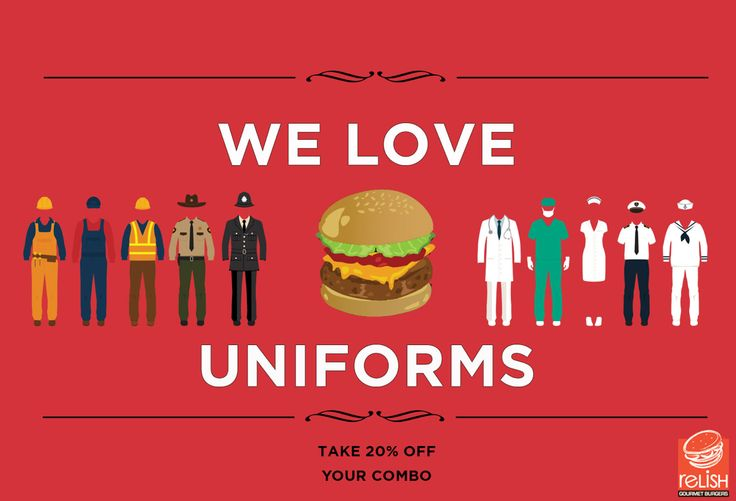 We relish Uniforms