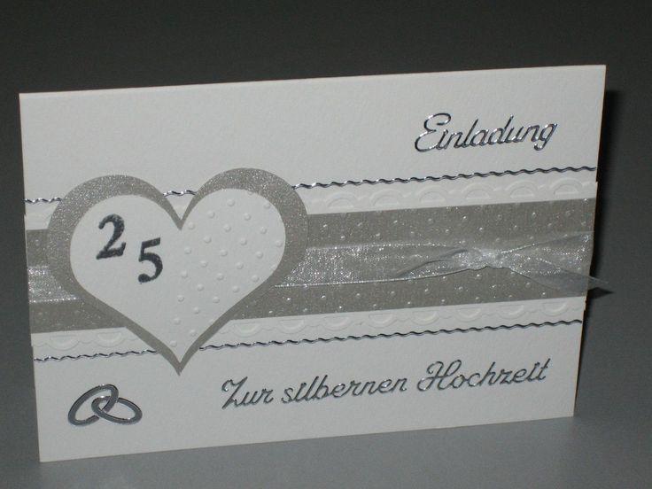 17+ Beste Ideeën Over Einladungskarten Silberhochzeit Op Pinterest,  Kreative Einladungen