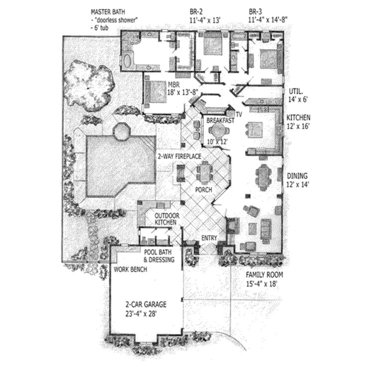17 best images about spanish colonial haciendas on for Spanish colonial floor plans