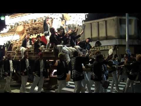2013.10.13(日)・春日神社・だんじり「彼方」《曳き納め》(大阪府富田林市)