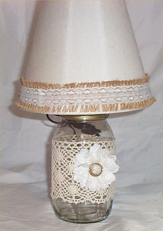 18 best Mason Jar Lamp images on Pinterest | Mason jar ...