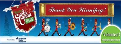 Winnipeg Santa Claus Parade  https://www.facebook.com/WinnipegSantaClausParade