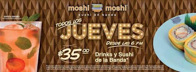 Para aquellos que nos dijeron que no podiamos, aqui esta la prueba de que si, a tan solo $35 todo el sushi en barra y bebidas