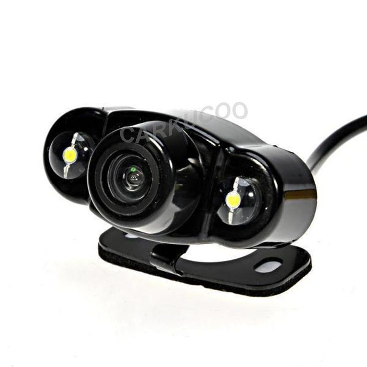 Auto Parktronic New Style HD Car Rear View Reverse Camera Night Vision Car Backup Rear Camera Parking Camera With 2 LED Lights