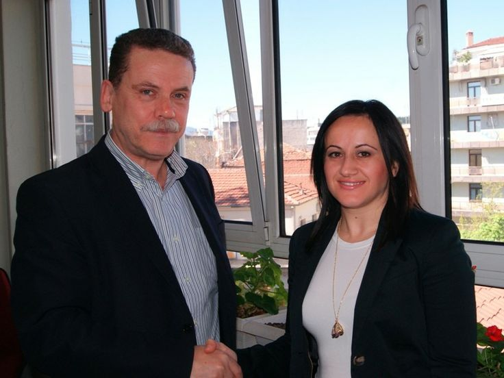 Συνάντηση της Νικολέτας Πετρίδου (υποψήφιας) με τον επικεφαλής του συνδυασμού Λάζαρο Μαλούτα