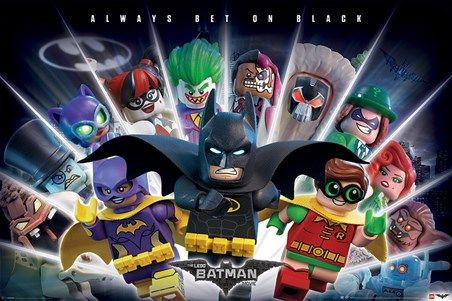 Always Bet on Black - The Lego Batman Movie