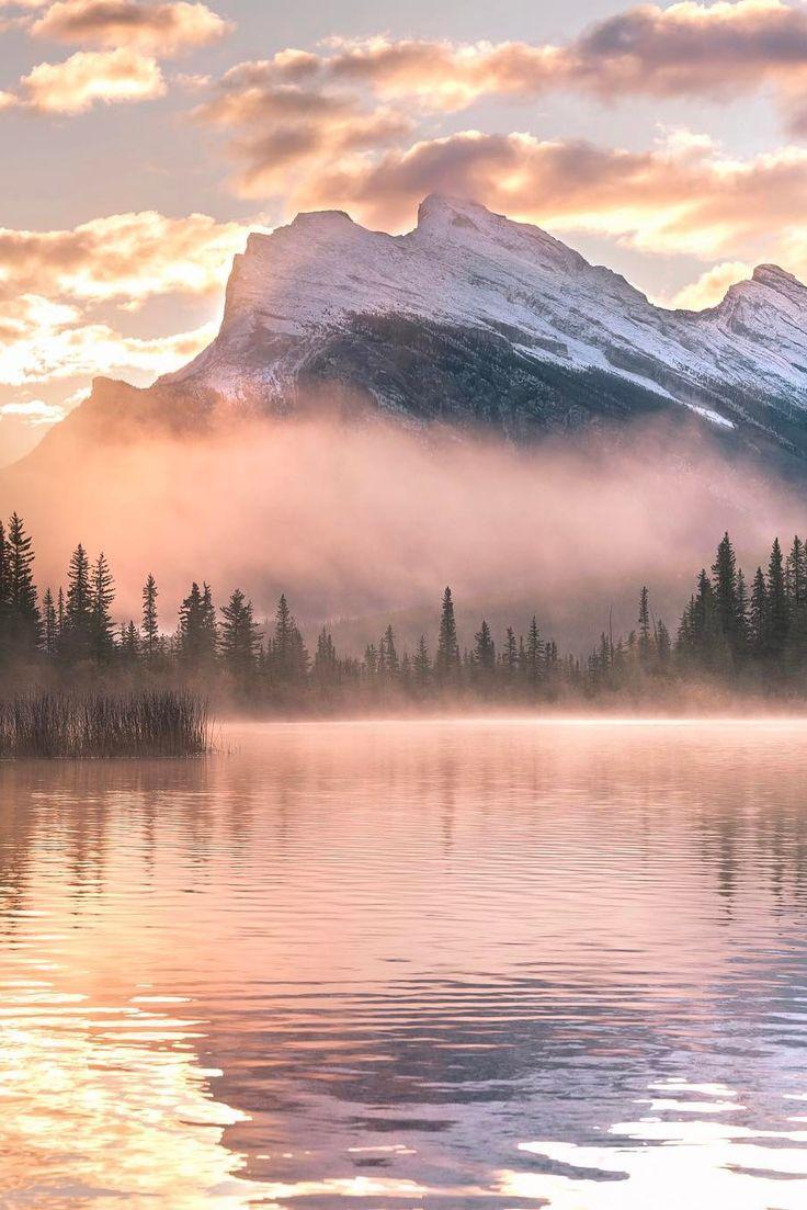 "banshy:  ""Banff National Park by Eric Rubens  """