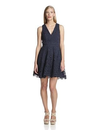 74% OFF French Connection Women's Loving Crochet Dress (Nocturnal)