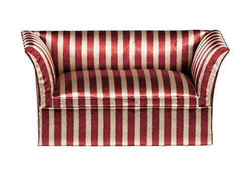 Pin by Rosemary Mignogna on basket | Striped sofa, Art deco sofa ...