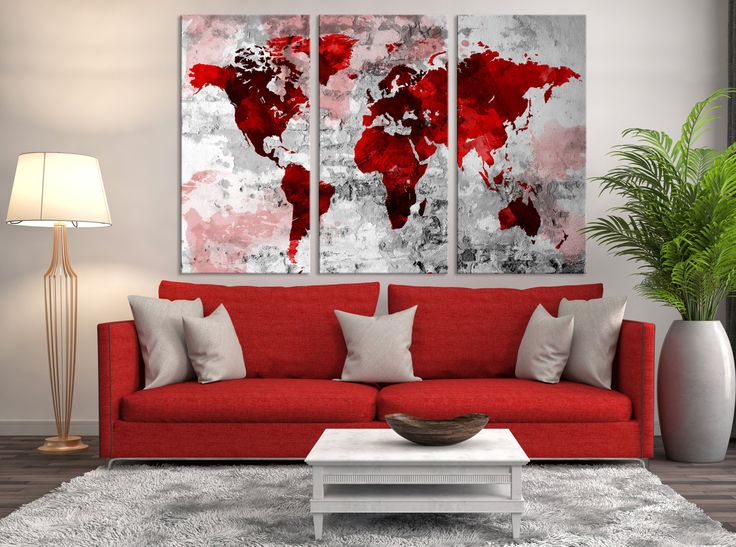 10 best watercolor world map canvas images on pinterest world map large world map wall art canvas print navy blue watercolor world map travel canvas print world map wall art world map canvas print gumiabroncs Images