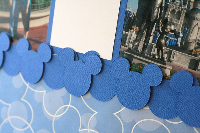 Creating Disney Scrapbook Pages- April 2010 by Craft Fancy, via Flickr