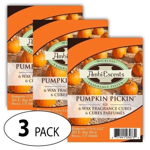 Re-live your favorite memories from the pumpkin patch with this scented wax cubes. Wickless warmers leave no soot residue. Easy cleanup! Material: Wax. No Local Pickup. Product Information. | eBay!