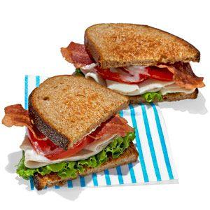 Recipe Idea: Turkey Bacon Lettuce and Tomato  - Seventeen.com