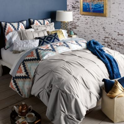 MASTER - Blissliving® Home Harper Duvet Cover Set in Glacier Grey - BedBathandBeyond.com