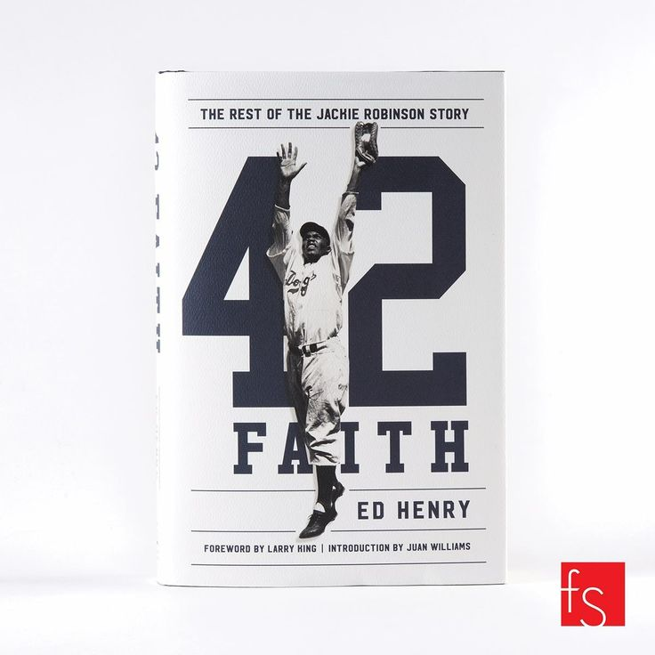 The rest of the Jackie Robinson story. Book cover designed by Charles Brock, Faceout Studio.