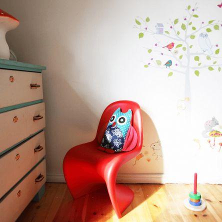 Cadeira Infantil Panton Vermelha