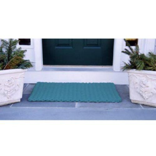 Cape Cod Doormat by CAPE COD DOORMATS. $94.99. Teal, 100% polypropylene. Reversible. Choice of sizes. Quick-drying and stain-resistant. Traps dirt, sand, and snow. Cape Cod Doormat. Cape Cod Doormats are tough wearing and long-lasting. Top quality polypropylene cordage has thousands of fibers that remove dirt from the soles of boots and shoes and will withstand years of heavy traffic. Reversible, colorfast, mildew- and insect-resistant. Hose clean and quick drying. Ava...