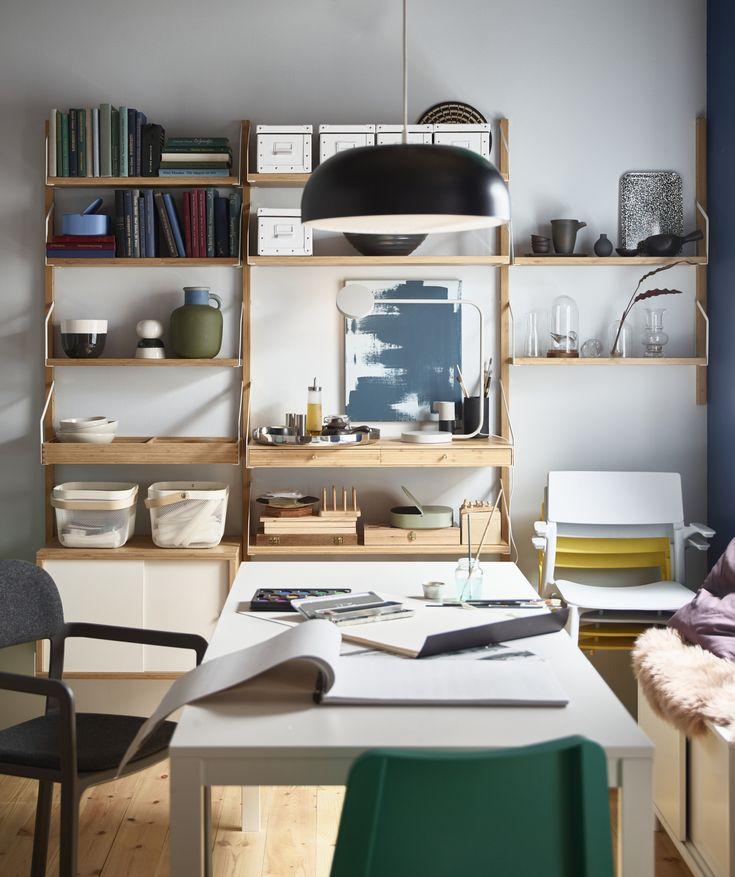 Arbeitsplatz Im Wohnzimmer Einrichten Ikea Gestalte Dir: Lass Deiner Kreativität Freien Lauf Und