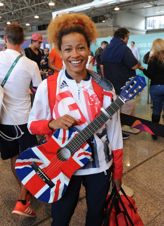 Team GB Olympic long jumper Jazmin Sawyers becomes early favourite on The Voice