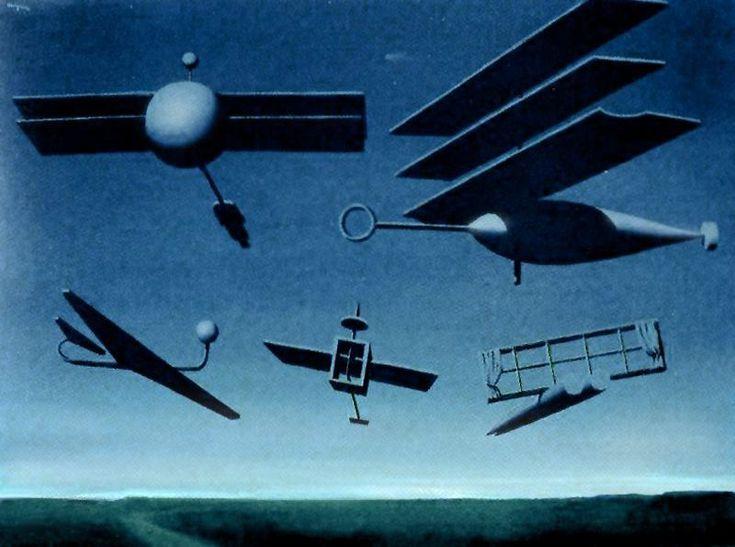 Rene Magritte, Le Drapeau noir, 1937