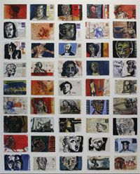 Marco's postcards (shortlisted for Dobell Prize)