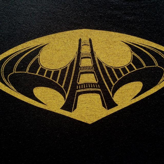 Batman Logo The Golden Gate Bridge An Awesome T Shirt