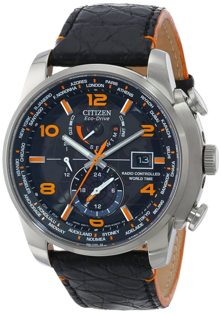 "Citizen Men's AT9010-28F ""World Time A-T Limited Edition"""