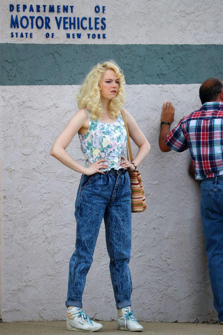 Эмма Стоун и Джона Хилл в новых образах на съемках сериала «Маньяк» Актеры преобразились для работы над новым проектом сервиса Netflix.