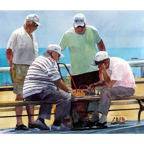 Watercolor John Salminen