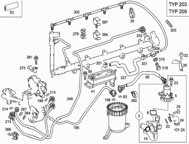 Mercedes Sprinter Fuel Rail Pressure Sensor O Ring