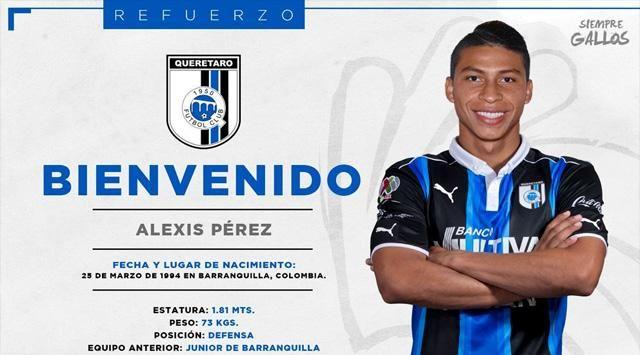 Diario Deportivo Junior Barranquilla: Alexis Pérez al Querétaro de México tras ser vendi...