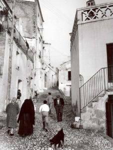 Pisticci, Italy - Dirupo District