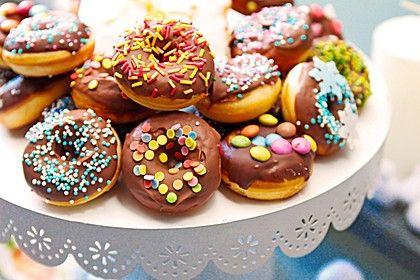 Mini - Donuts für den Donut - Maker (Rezept mit Bild)   Chefkoch.de