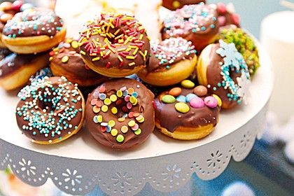 Mini - Donuts für den Donut - Maker (Rezept mit Bild) | Chefkoch.de