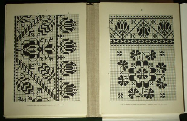 Romanian folk embroidery pattern4. - Saxon costume linen