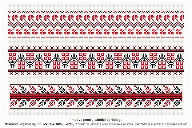 Semne cusute romanian traditional motifs moldova iasi rom beading romania - Beautiful romanian folk motifs ...