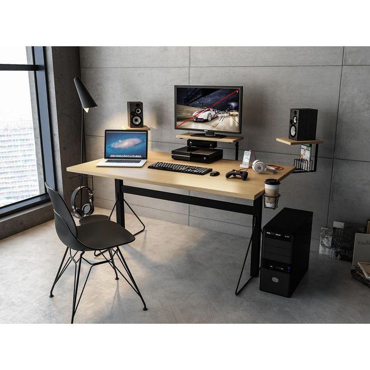 38 Diy Computer Desk That Really Work For Your Home Office In 2020 Bedroom Desk Decor Home Office Design Gaming Desk