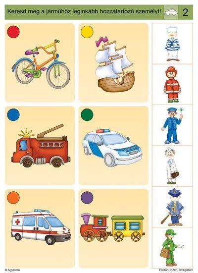 Logico - dopravní prostředky