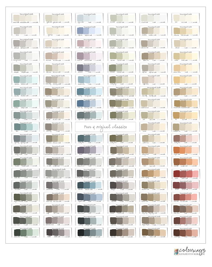 Annie Sloan Chalk Paint Swatch Book.  Paint Colors + Tints Hi Everyone! The move from Colorways on blogspot to Colorways @ lesliestocker.com is almost complete. All (190+) of my posts have been add…