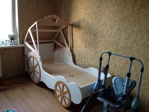 Детская кровать Карета Принцессы