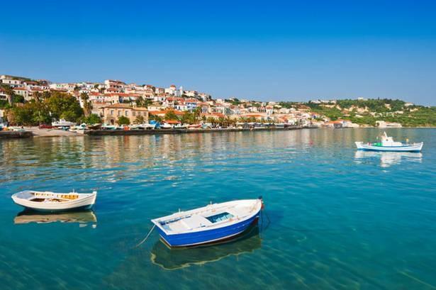 Koroni in Peloponnese, Greece