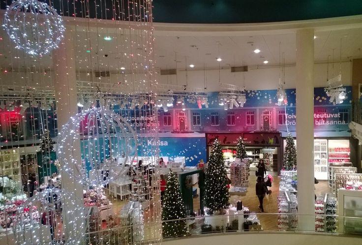 Stockmann's, store in Helsinki, christmas market....