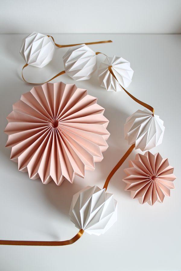 ein kreativer Blog: wie man Dekorationen mit Papier, diy, handgemachten Projekten, rec – Alexandra Guiso
