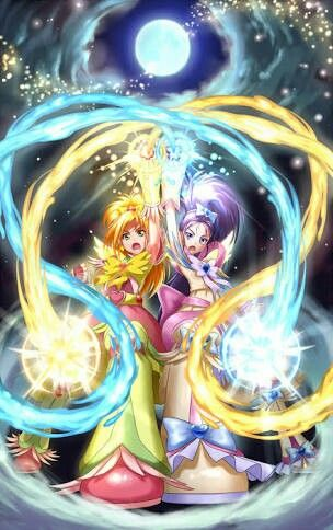 Bloom/Bright/Saki and Egret/Windy/Mai