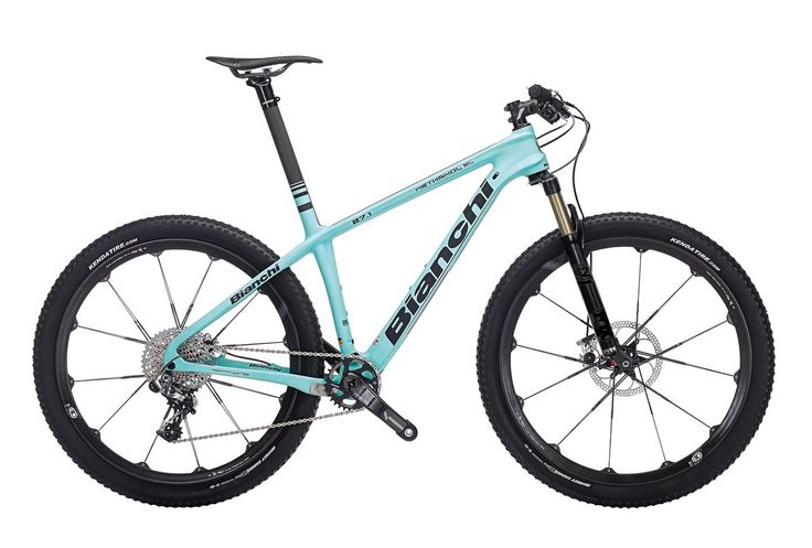 2016 Bianchi Methanol 27.1 SL | Stunning Bianchi design on a mountain bike looks oh-so-good! | Available at Wheelies.co.uk